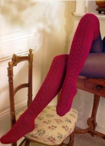 вязание чулки