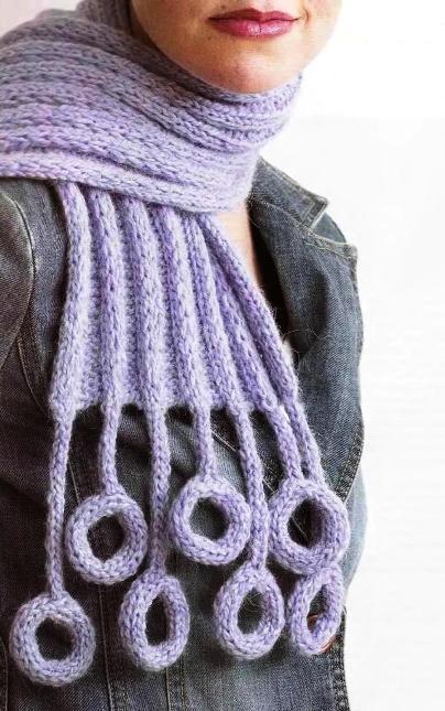 Бесплатные схемы вязания крючком: шарф-воротник, вяжим платье для...