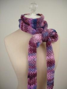схема шарфа-хомута.