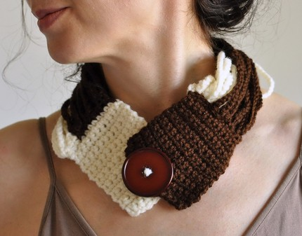 где самые лучшие вязки шарфов.