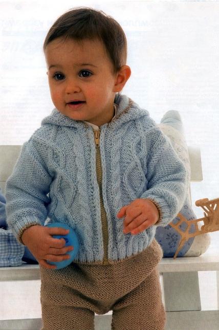 Вязание крючком кофты с капюшоном