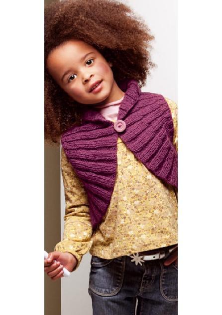 Вязаное болеро для девочки | Вязание