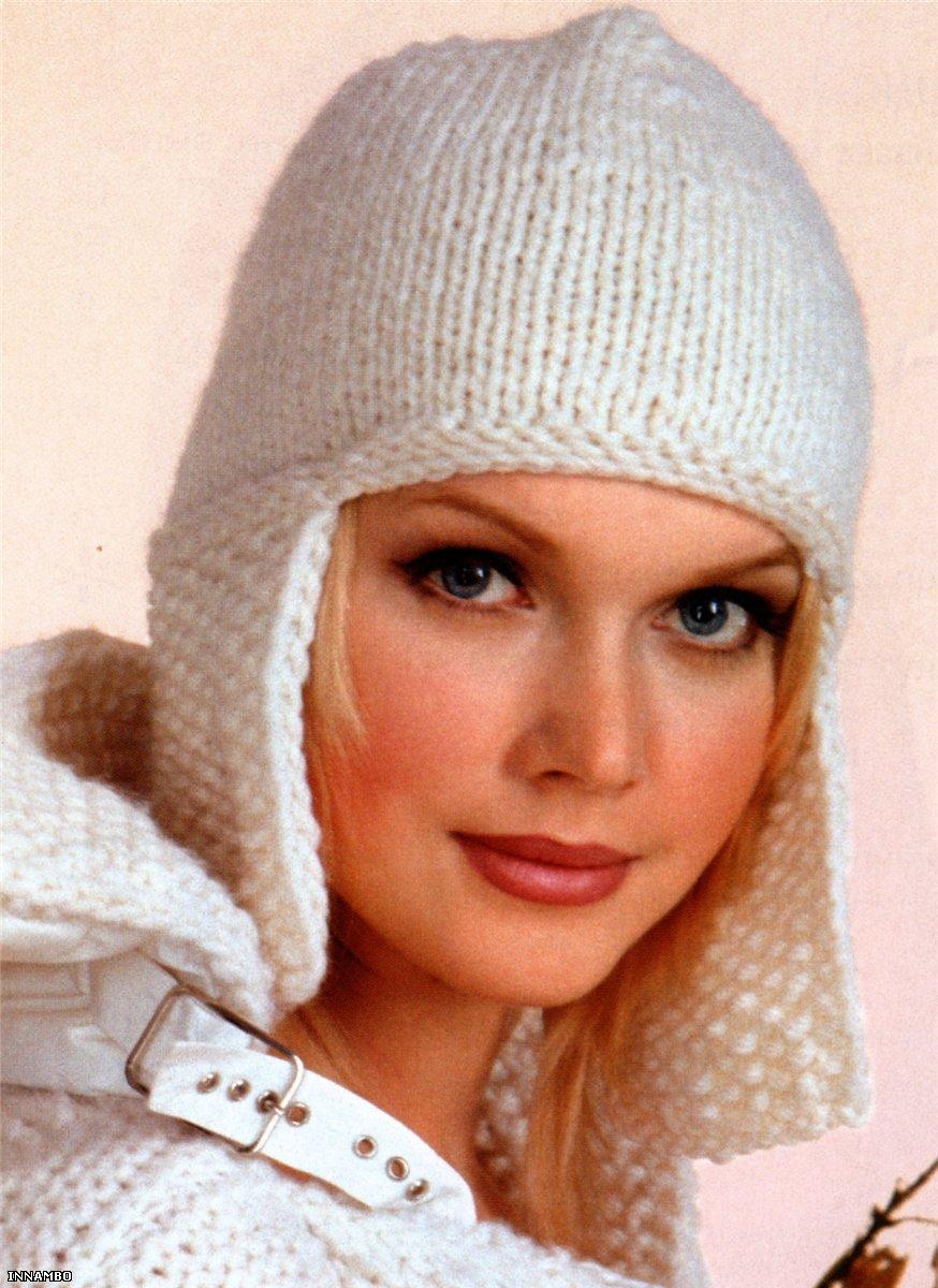 Вязание, вязание спицами, вязание крючком, Схемы вязания, вышивание, макраме схема вязания шапки спицами...