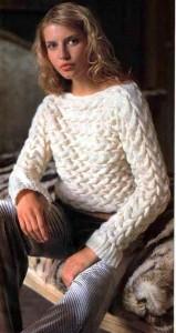 Вязанный свитер на 3 года