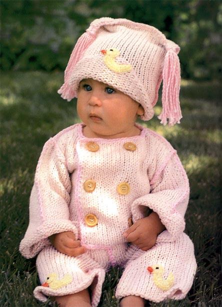 Вязание кофточки малыш