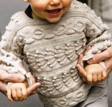 Свитер для малыша спицами схема фото 173
