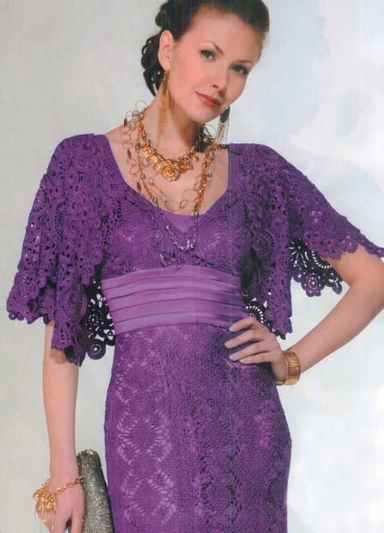 Красивые вязаные платья являются лучшим украшением нашего