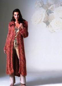 Вязаное пальто вязание спицами