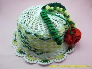 вязание панамки