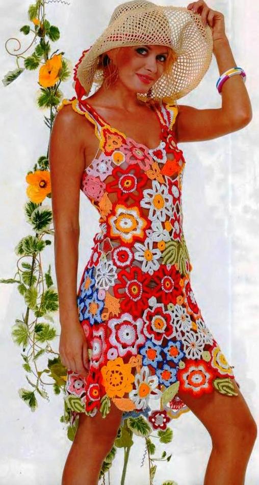 Яркие платья туники сарафаны 62