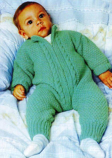 вязание спицами для грудных детей.