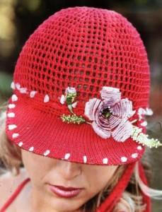 вязание кепка