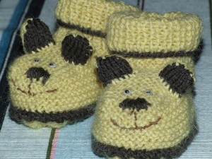 вязание пинеток