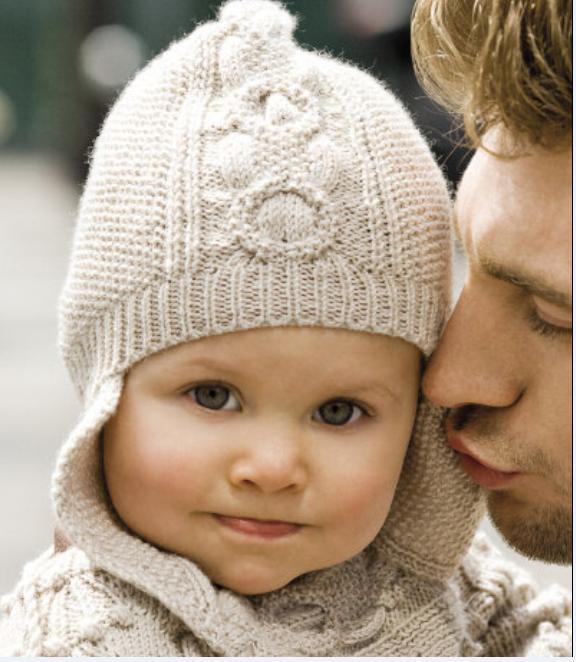 Как связать шапочку для мальчика 6 месяцев