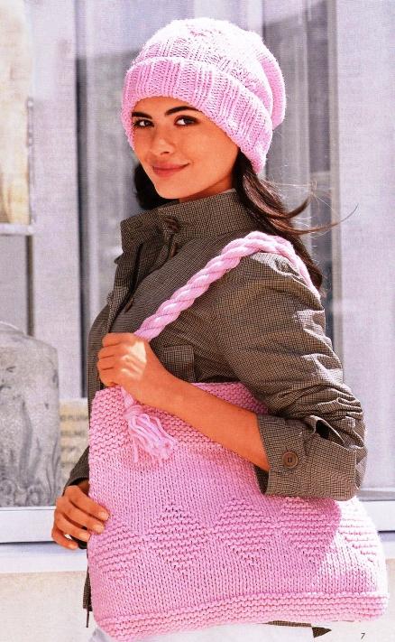 Женские шапки спицами Вязание Шапок Спицами 8