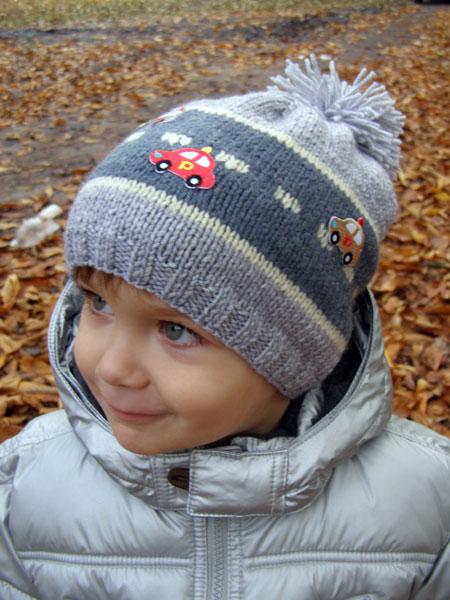 Вязание шапки с ушками крючком описание