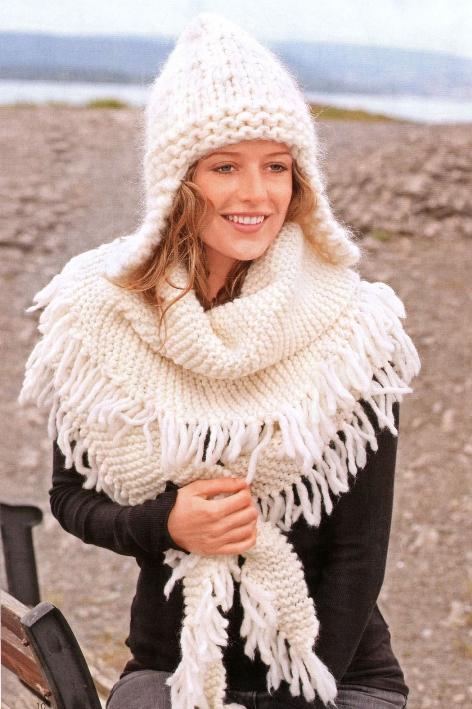 Вязаные шапки кройка и шитье вязание