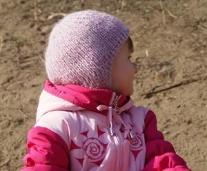 как связать детскую шапку