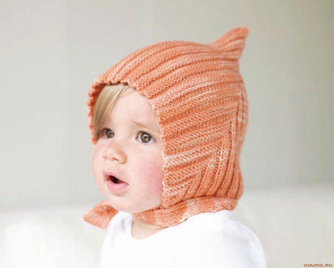 Детское вязание шапка для новорожденных