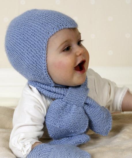 Вязание шапочки для младенцев