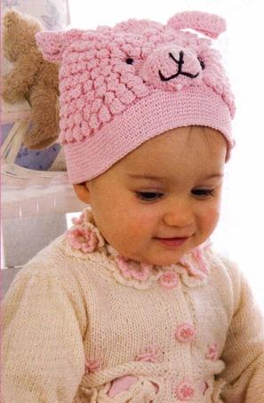 схемы шапочек для новорожденных вязанные крючком.