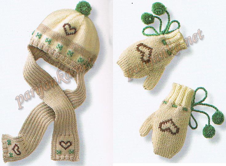 схемы вязаных шапок для малышей - Выкройки одежды для детей и взрослых.