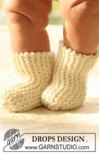 вязаные носки для малыша