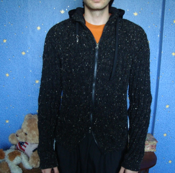 Вязаная куртка и шапка (Вязание для мужчин) Вязание 94