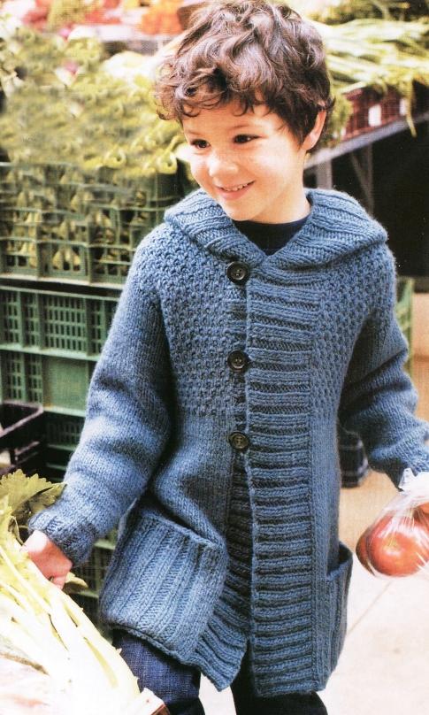 Вязаные пальто для детей (26 фото ) /