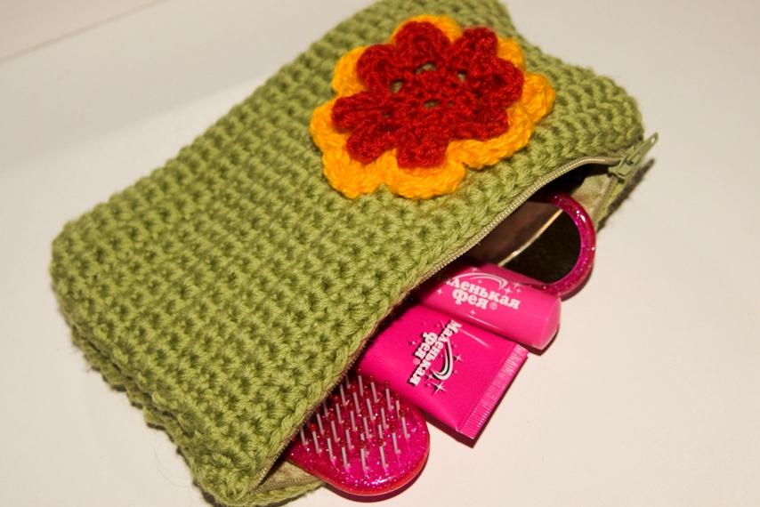 Вязание крючком-косметички 54