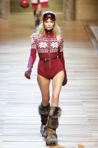 D&G мода зима 2010-2011