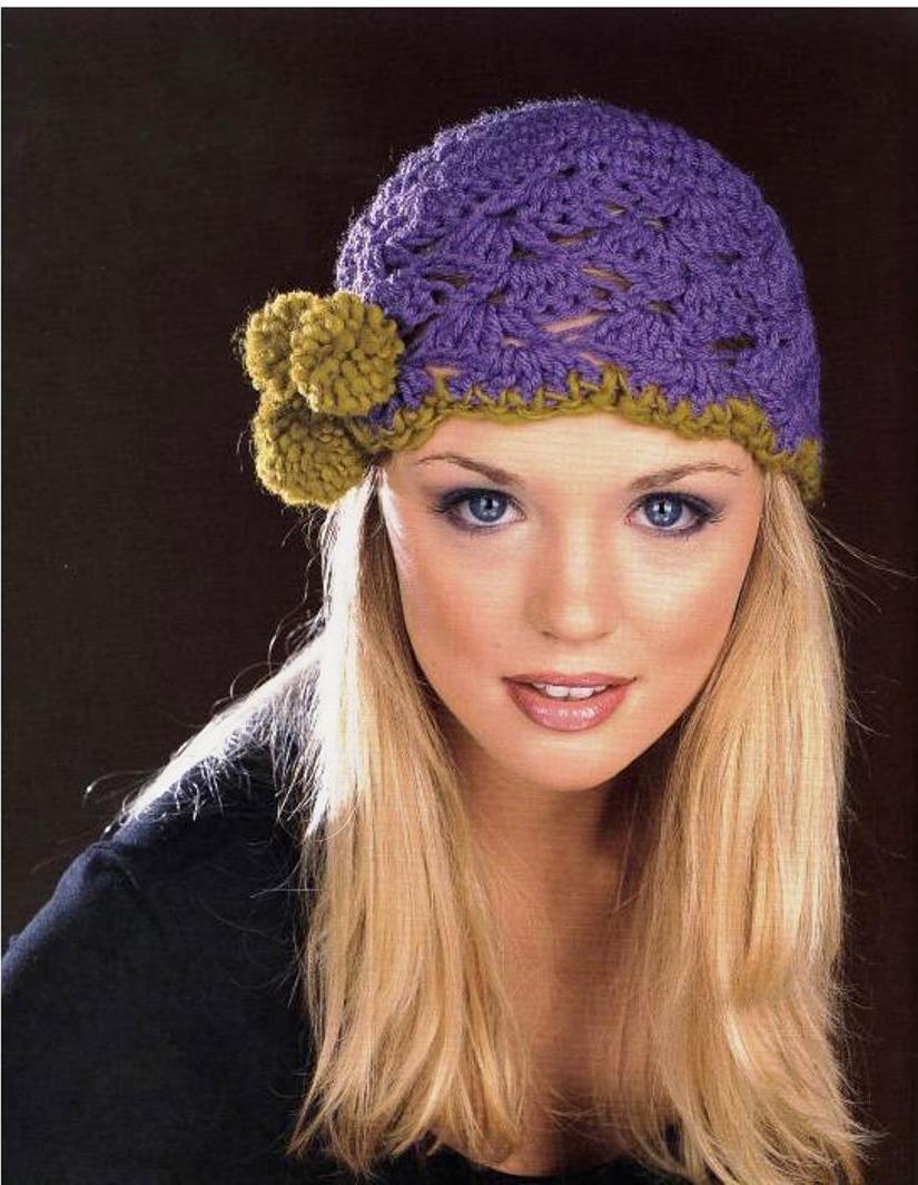 Вязание шапок крючком фото в вологде