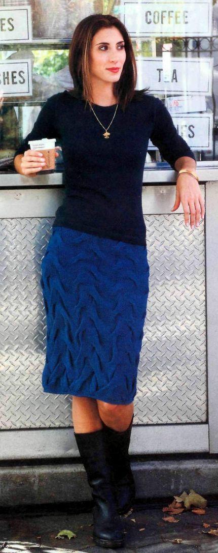 вязание туники спицами. вязаная юбка для детей крючком схема. схема.