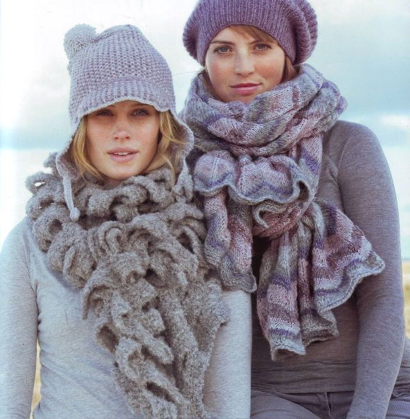 Женские и мужские вязаные шарфы. рукоделие,своими руками,вязание,хобби...