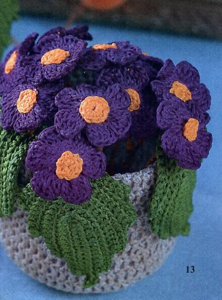 Вязание: цветы, украшения Записи в 53