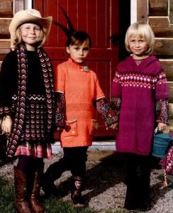 вязаные платья для девочки