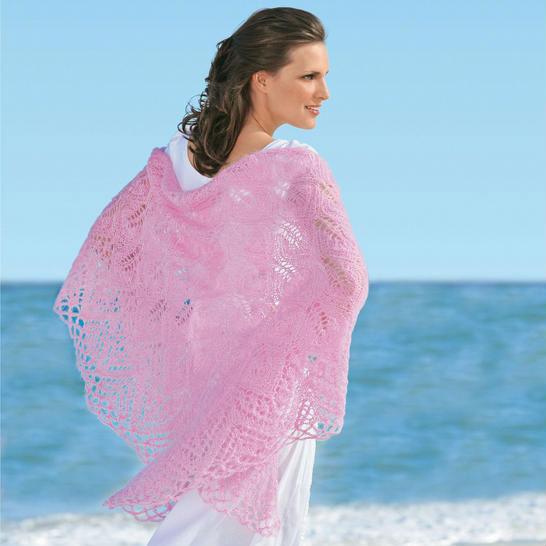 """На нашем женском сайте  """"Дамочка """" Вы постоянно отыщите новость - видео уроки по вязанию шали спицами, с фотографиями..."""