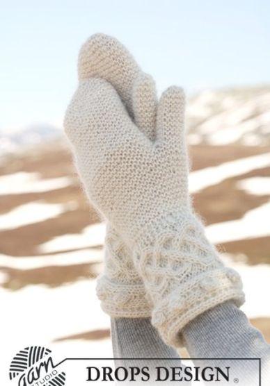 вязаные рукавицы, Выкройка кепки