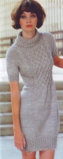 женская модель для вязания. модель для вязания.