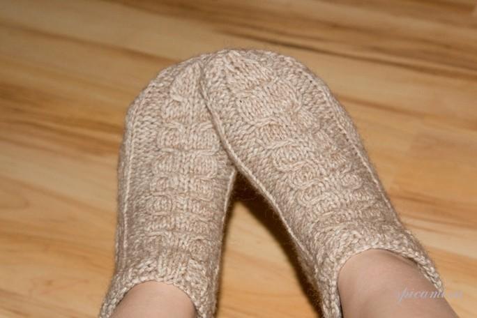 Носки вязанные своими руками