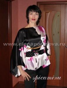 шьем блузу-кимоно
