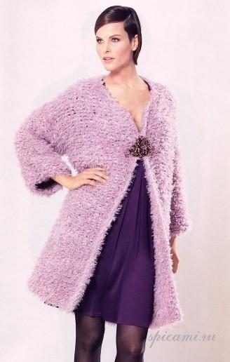 вязание спицами для женщин больших размеров с описанием.