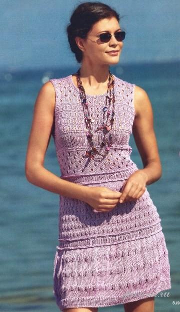 Вязаные платья 2010 [ Вязаные платья 2010