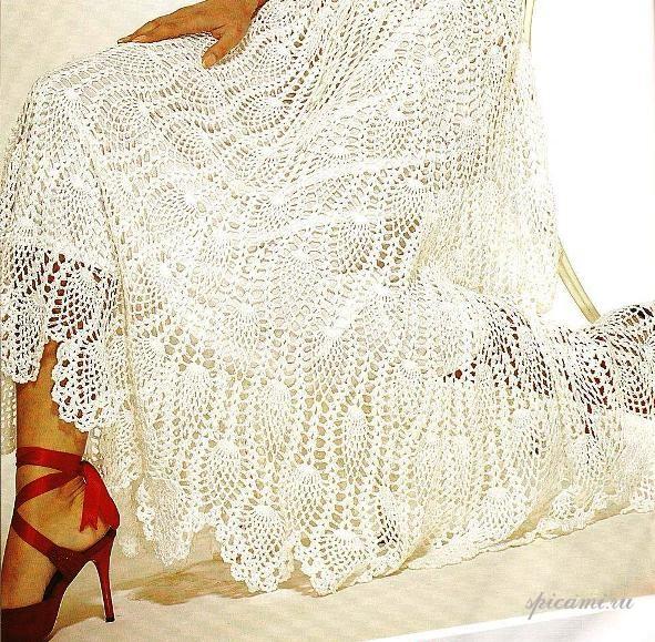 Одеваемся со вкусом.  Вязание крючком юбки .  Кройка, шитье, вязание - способы и приемы.