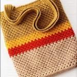 красивые вязаные сумки крючком.