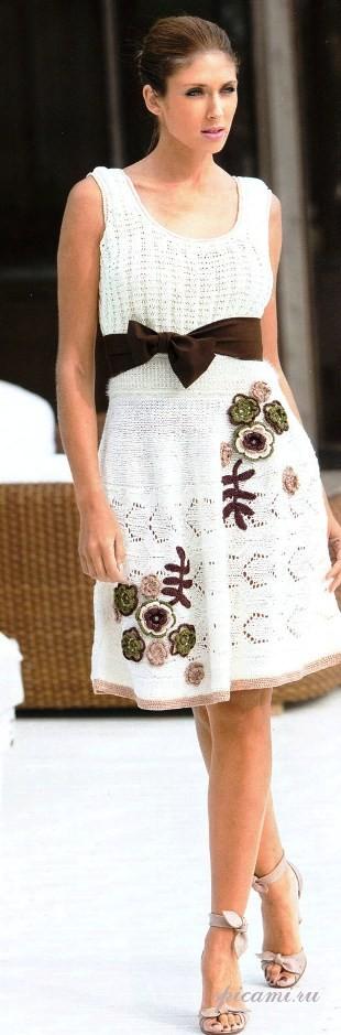 Платье с ромашками видео