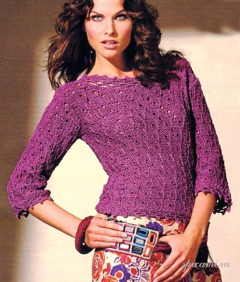 Модели вязания крючком и спицами для женщин, мужчин, детей, схемы вязания бесплатно.