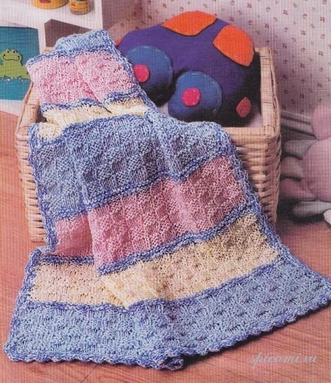 Вязание пледов одеяло