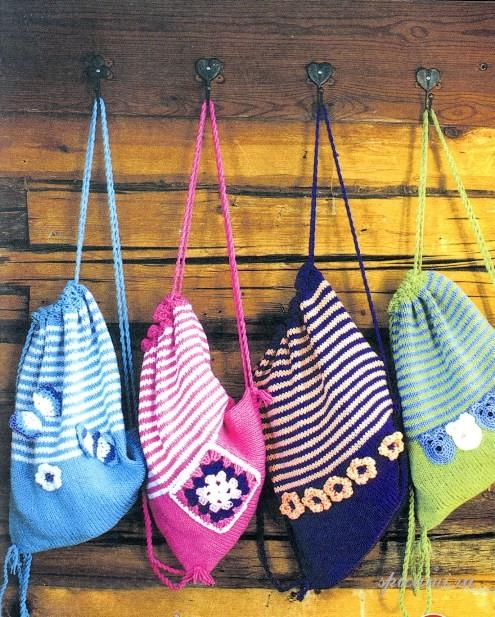 Вязание спицами и крючком для детей.  14 марта 2012.
