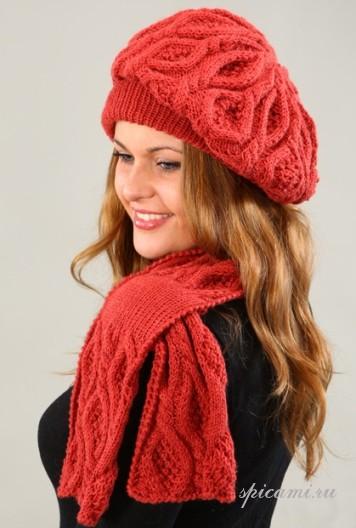 модные шарфы спицами - Вяжем вместе с вами - extra-credit.ru.com.